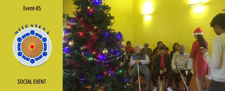 Event 05 – Christmas Lunch with Seniors